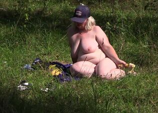Fat nudist camp