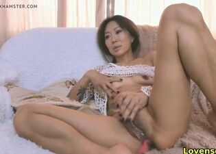 Asian woman sucking